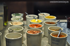 Dried Spices at bd's Mongolian Grill ~ Burnsville, MN