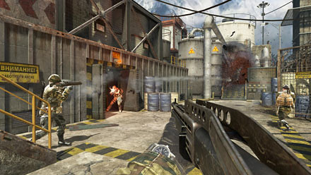 Call of Duty Black Ops Radiation