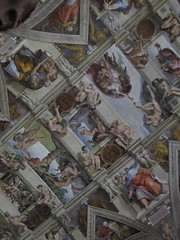IMG_0275 (drum881) Tags: camera city italy vatican rome roma adam art saint museum painting photo artwork san europe mediterranean italia image god picture chapel pic ceiling hidden peter michelangelo pietro sistine