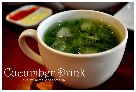 Potluck Lunch: Cucumber Drink