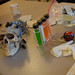 University library CSI theme Halloween 2007.