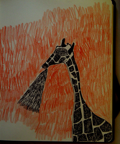 giraffe breathing