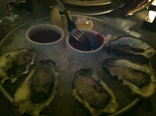 Malpeque Oysters, Riverpark