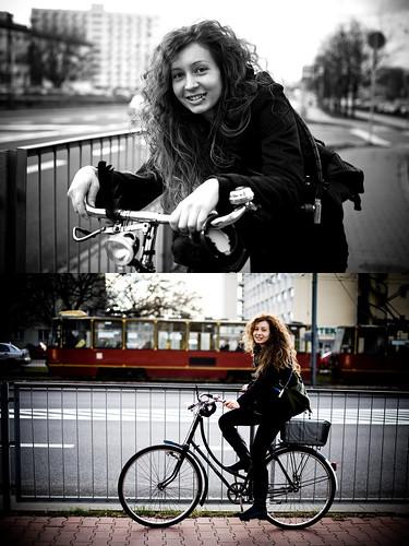 Warszawa Rowerowa - Warsaw Cyclists - Ola