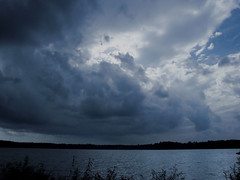 feels like rain (bdaryle) Tags: blue sky nature water clouds sony silhouettes brandondaryle bdaryle imagesbybrandon