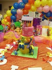 BACKYARDIGANS CAKE (CAKES BY SUE) Tags: gumpaste childrenscake fondantcake tieredbirthdaycake backyardiganscake childrenbirthdayparties backyardigansthemedparty backyardigansdecoration