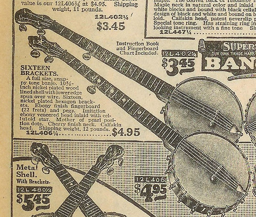 "Sears Supertone ""Amateo"" Banjo"