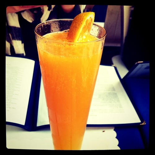 Fresh squeezed mimosa by magerleagues, on Flickr