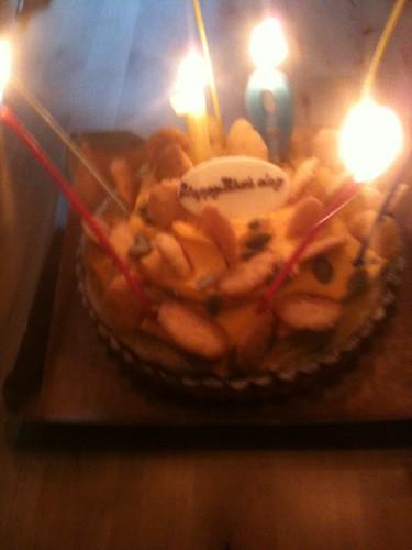 2010 November Birthday Cake