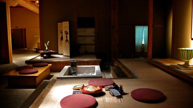 20101031_日本東北玩第三天_095 だいこんの花 母屋