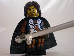 Lord of the Rings Custom Lego Aragorn-Elessar