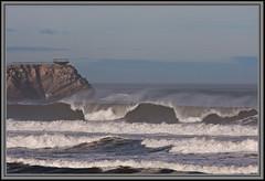 Temporal en Salinas (Otema) Tags: sea espaa mar spain wave asturias salinas lugar temporal ola
