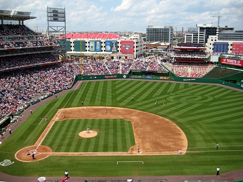 DC's Nationals Park (by: Nick Hall, creative commons license)