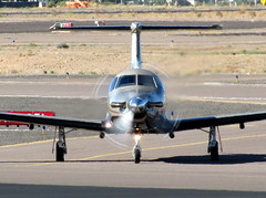 City of Phoenix (PD) Pilatus PC-12/47 N620FB 'Firebird 20' (ChrisK48) Tags: airplane aircraft pc12 2008 dvt phoenixaz cityofphoenix kdvt phoenixpd phoenixdeervalleyairport n620fb pilatuspc1247e firebird20