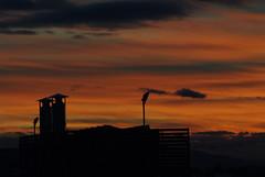 DSCF8527_1_800 (Alessandro Pighini) Tags: sunset red urban italy color clouds nikon italia tramonto nuvole colore fuji urbano rosso pesaro chimneys camini fujis5pro s5pro ai13528 pighini alepighini
