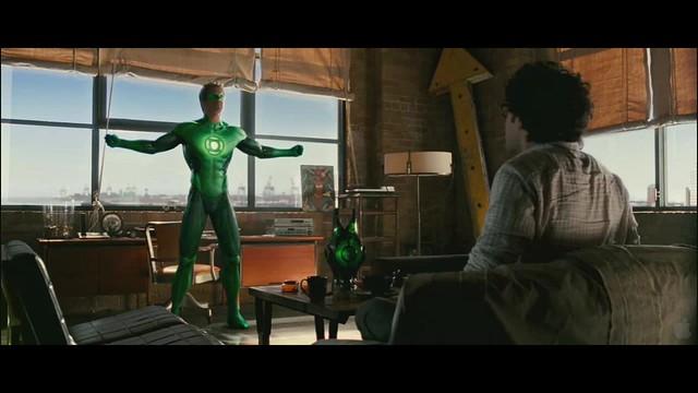 Linterna Verde escena Hal suit