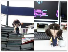 Harumi in my office