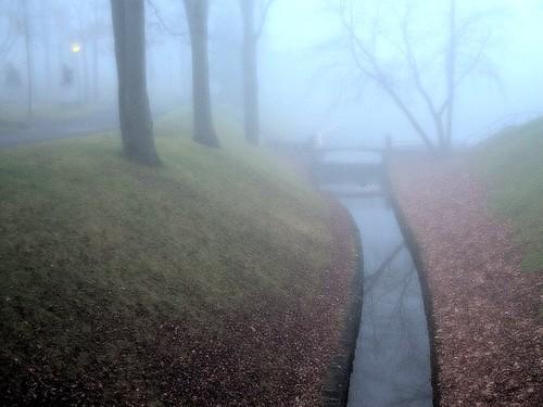 HolyPark in Fog