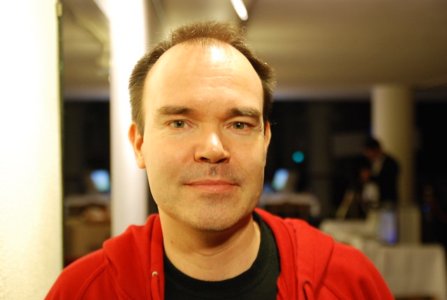 Peter Vesterbacka, CEO of Rovio (creators of Angrybirds, the game)