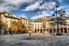 Plaza del Mercado (Josepargil) Tags: plaza cielo rbol logroo larioja soportales plazadelmercado canoneos7d josepargil mygearandmepremium mygearandmebronze