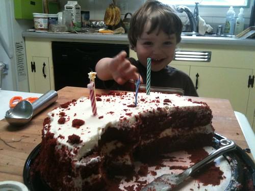 """it's a cake!"""