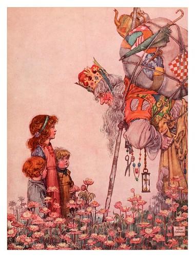 001-Ilustracion del cuento El Rey de Troya-Bill the minder 1912-W. Heath Robinson