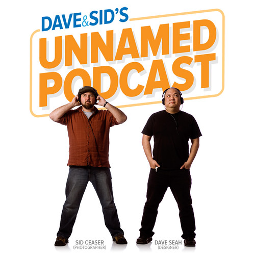 Dave & Sid's Unnamed Podcast: cover art V2