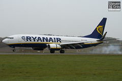 EI-EMB - 38511 - Ryanair - Boeing 737-8AS - Luton - 101102 - Steven Gray - IMG_4330