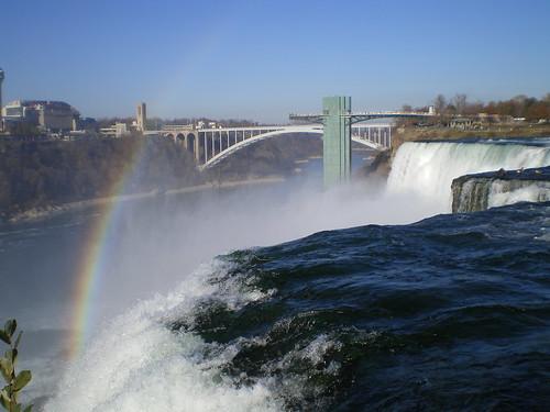 Rainbow over Bridal Veil Falls