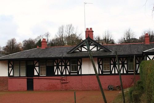 Tennis and Bowls Club, Titwood, Glasgow