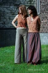 blouse imprimée et pantalon