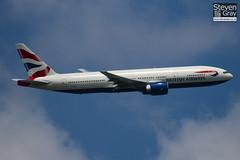 G-ZZZB - 27106 - British Airways - Boeing 777-236 - Heathrow - 100617 - Steven Gray - IMG_4772