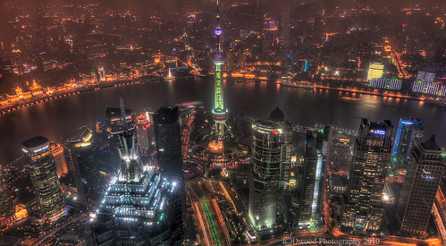 Shanghai from up High