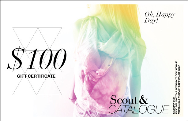 Scout & Catalogue Gift Certificate