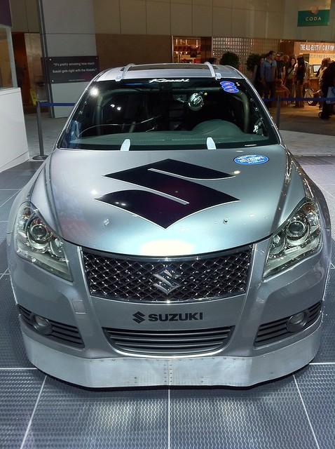 Suzuki Bonneville Speed Racer Front