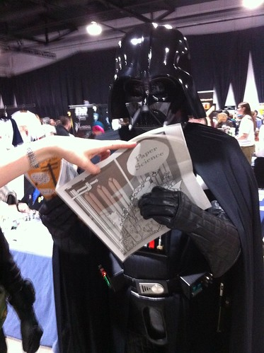 Darth Vader reading Paper Science 3