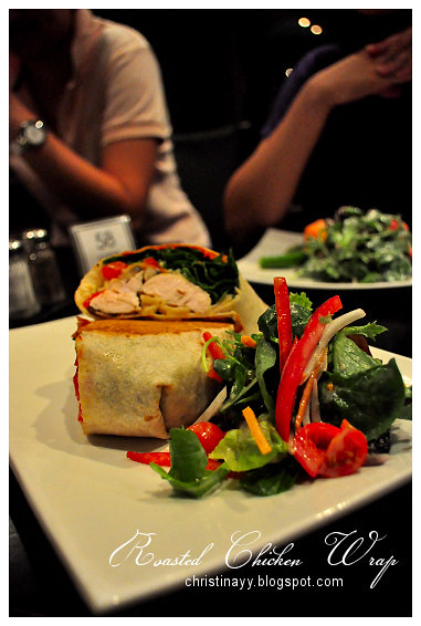 The Angel Cafe: Roasted Chicken Wrap