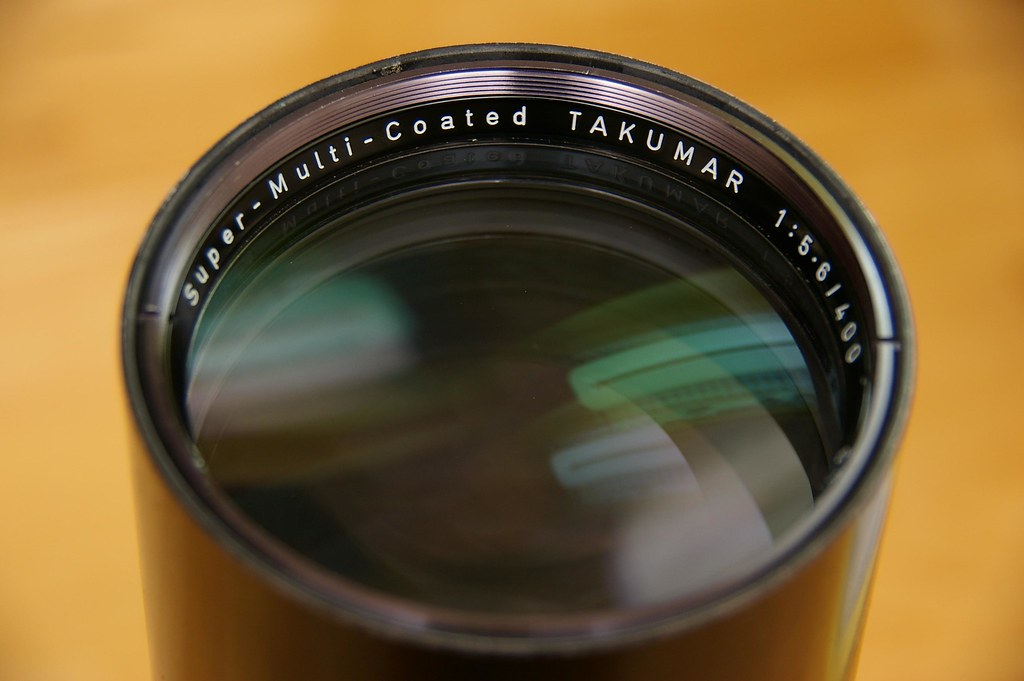 Super-Multi-Coated TAKUMAR 400/5.6