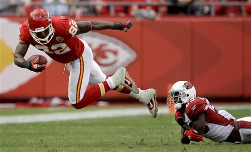 Dwayne Bowe scored another two TDs on Sunday