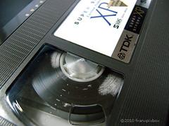 moldy VHS tape