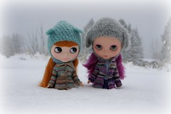 Let it Snow! (sglahe - Kaleidoscope Kustoms) Tags: violet darby libby blythe custom primadolly frankiedarling dearlelegirl