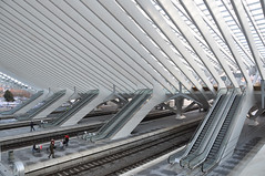 Liège gare Guillemins (Leo Ad) Tags: architecture belgium gare railway liège nikond90 nikonflickraward