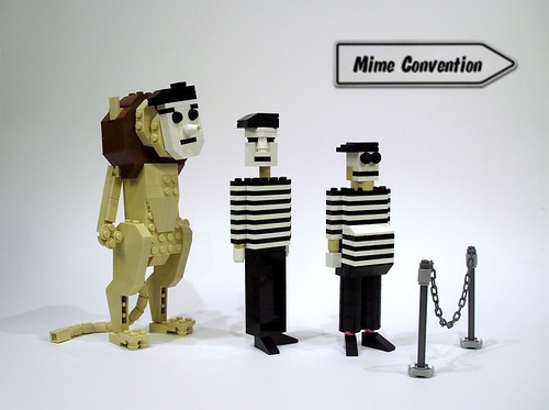 LEGO Mime is a terrible thing to Waste