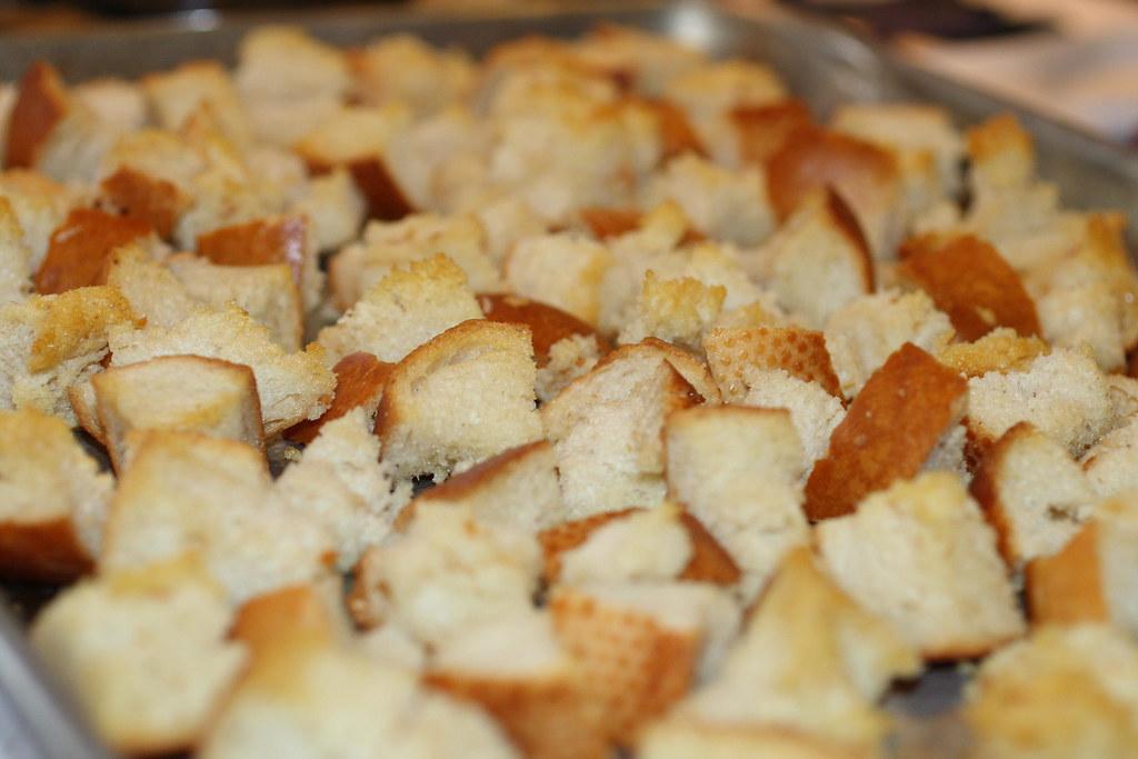 5200621242 a563f1cd27 b d Savory Sausage Bread Pudding
