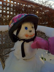 totcycle snowman