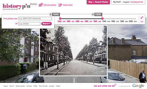 One of the Brockley pics on the Historypin site