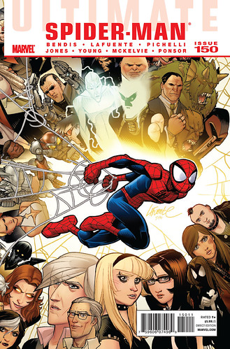 Ulimate Spider-Man #150 cover, art by David Lafuente