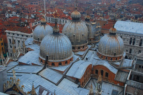 View of San Marco domes