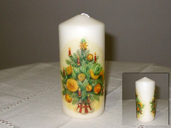 "Candle ""Christmas Tree"""
