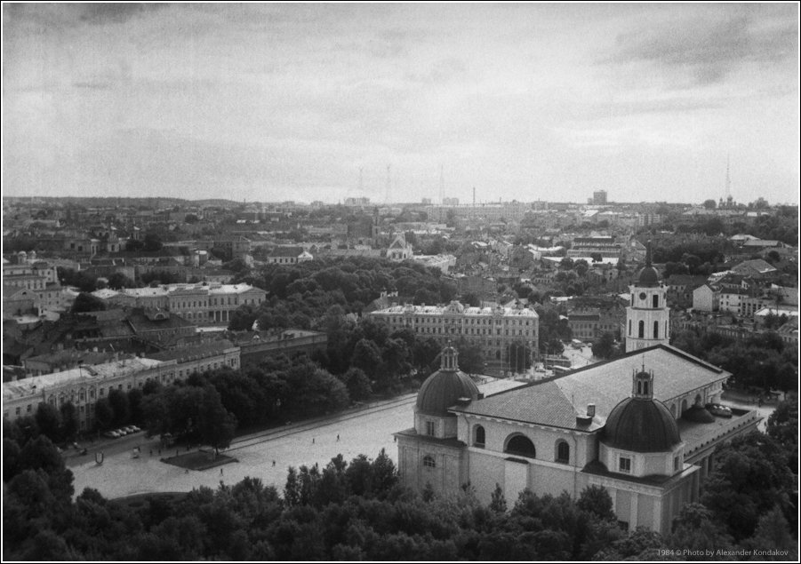 Vilnius 1984 © Photo by Alexander Kondakov
